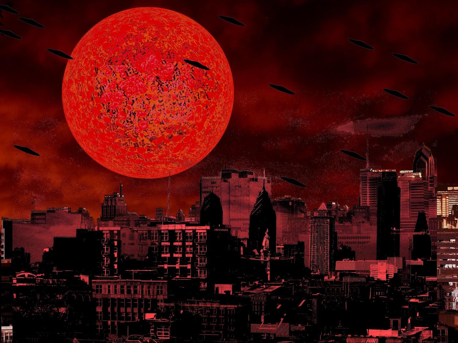 red cosmic moon year 2018 - photo #48