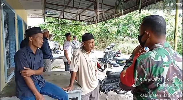 Dalam Rangka Jalin Silaturahmi Sekaligus Komsos Dilaksanakan Personel Jajaran Kodim 0208/Asahan