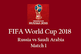 Russia vs Saudi Arabia live streaming