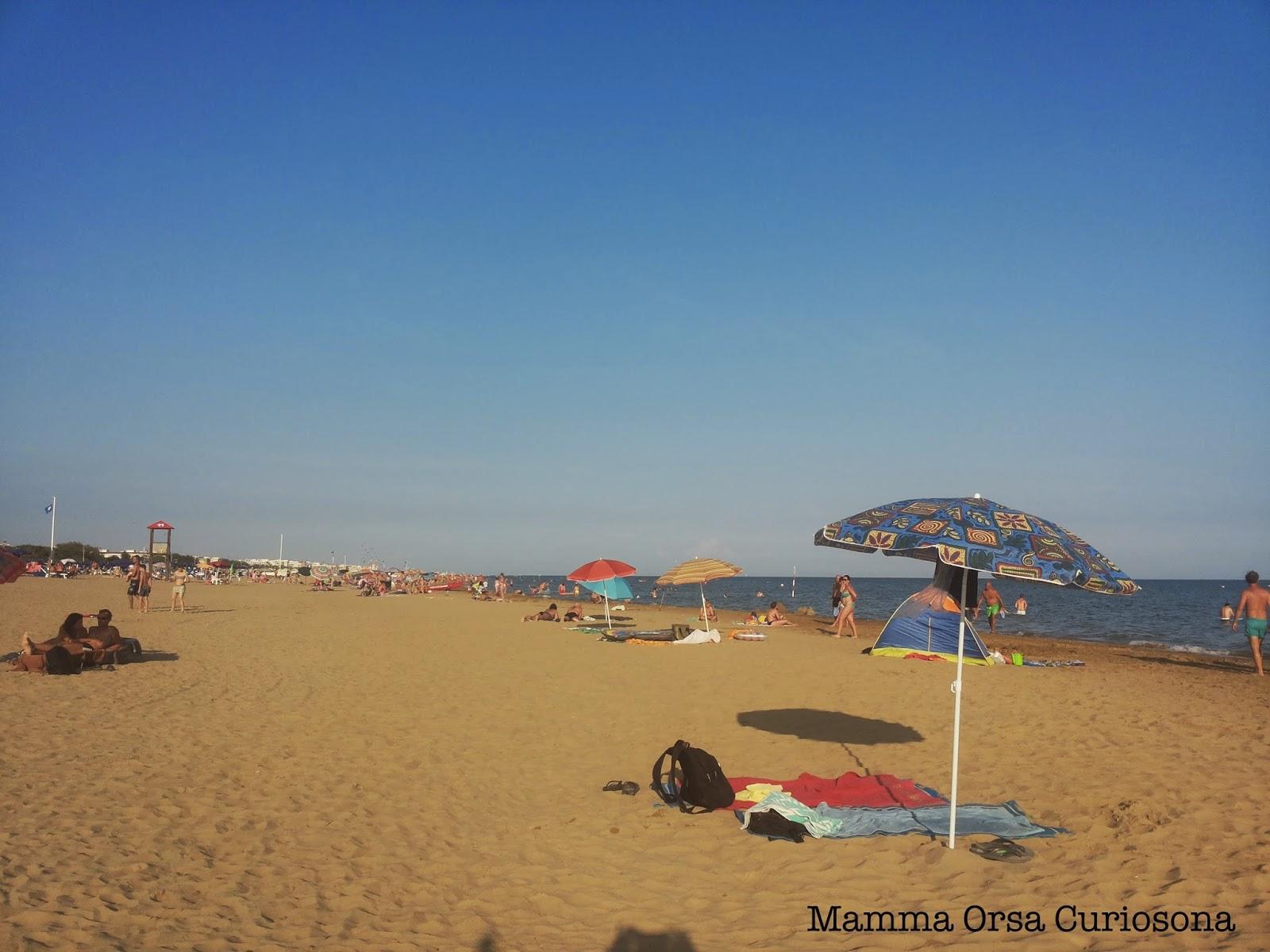 mare spiaggia e sabbia