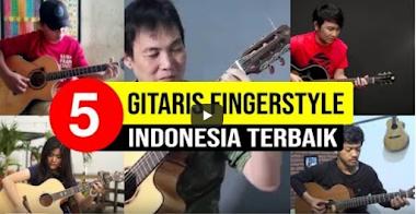 Inilah 4 Gitaris Fingerstyle Terbaik Indonesia Saat Ini
