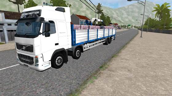 Mod Truck Volvo FH16 8X4 Long Chassis