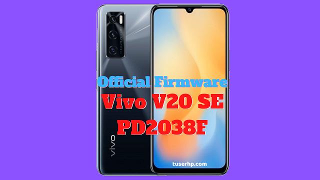 Firmware Vivo Y20 PD2034F
