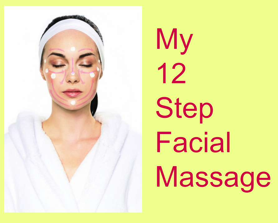 Pampering Sunday - My 12 Step Facial Massage