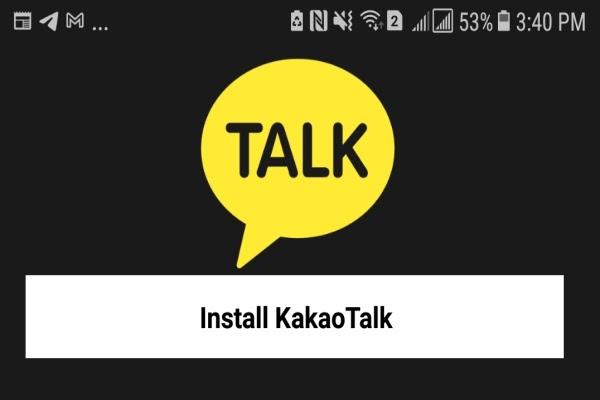 تطبيق مراسلة لارسال الصور والفيديو مجانا KakaoTalk