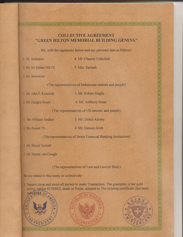 Misteri Perjanjian Soekarno Kennedy Tentang Hutang Amerika