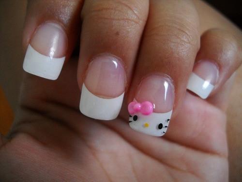 Belleza X Siempre Uñas Decoradas De Hello Kitty