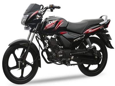 TVS Star City Plus 110 cc motorcycle
