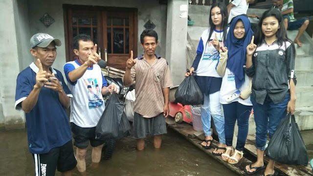 Relawan ISO Sasar 3 Wilayah di Kecamatan Kayuagung