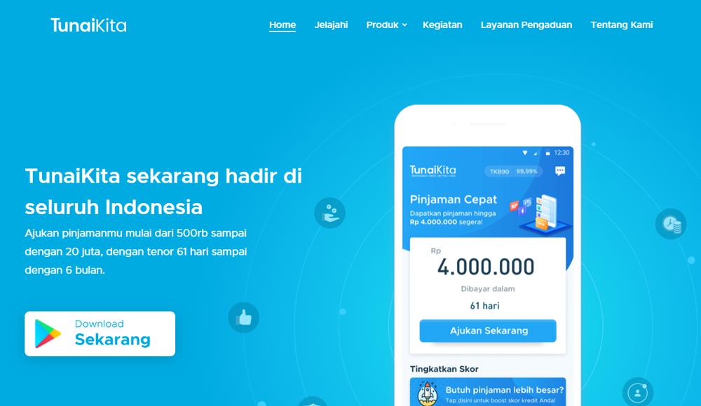 TunaiKita-Pinjaman Uang Tunai Online Dana Cepat