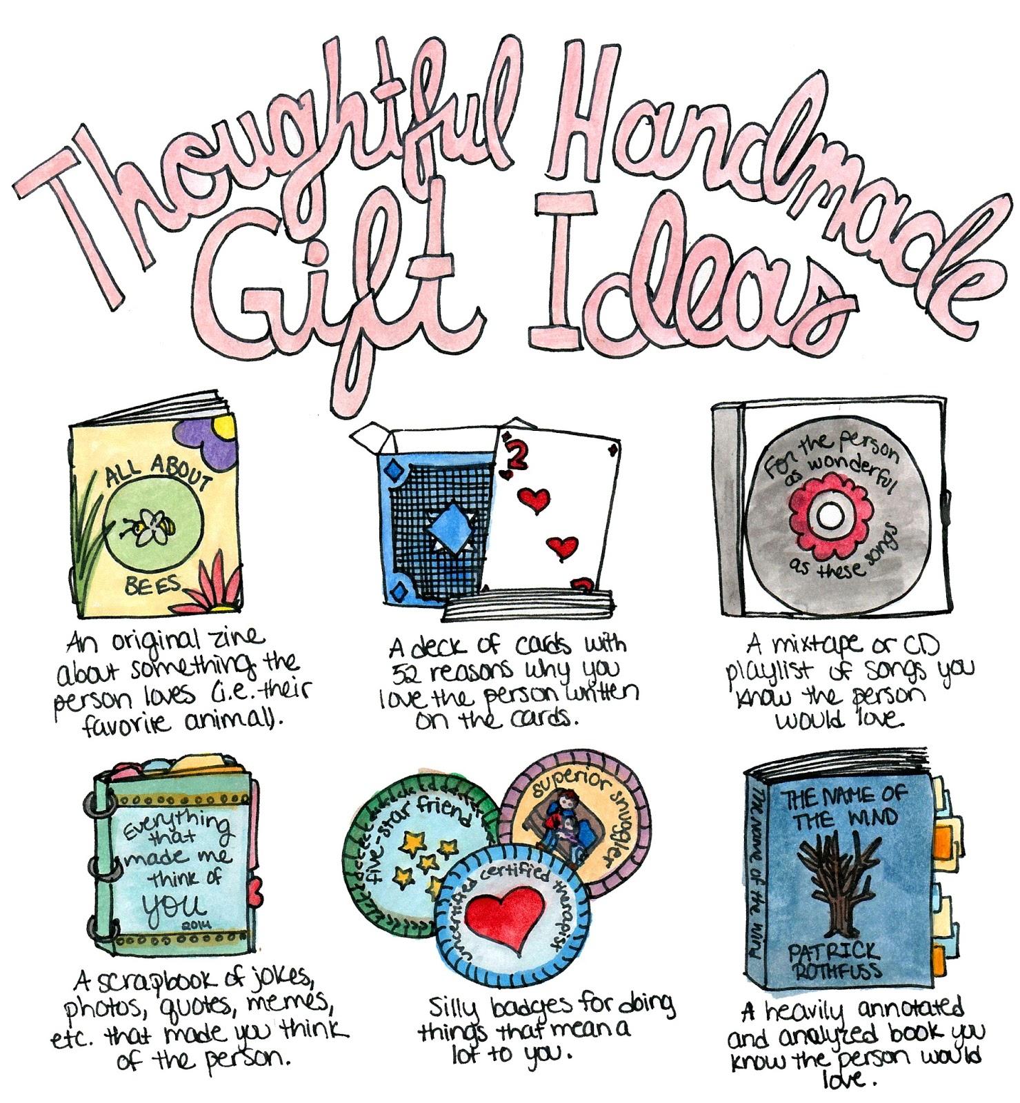 Thoughtful Homemade Gift Ideas - Eskayalitim