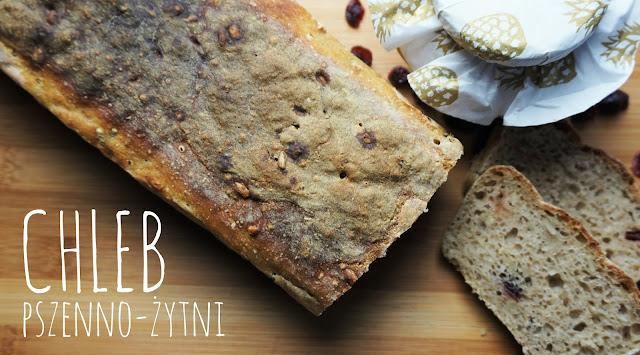 Przepis na pszenno-żytni chleb, który zawsze się udaje