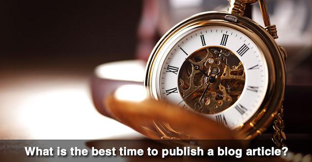 Kapan Waktu Terbaik Untuk Mempublikasikan Postingan Blog?