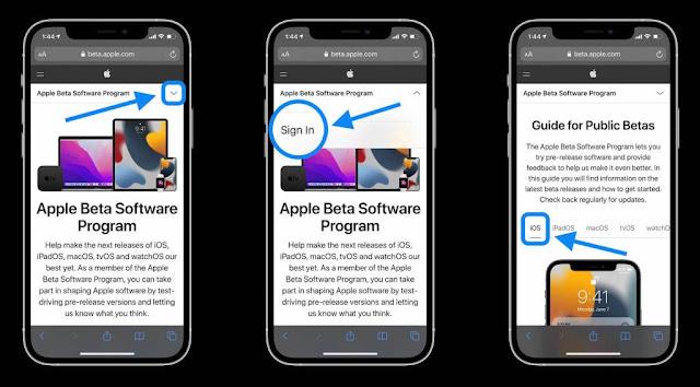 install-ios-15-public-beta-on-iphone