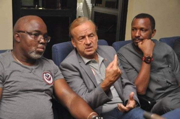 NFF Stands Firm on their Terms and Conditions for Gernot Rohr's Contract Renewal