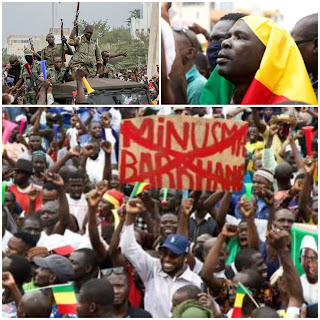 People in thousands in celebration galore as Mali coup succeeded against Ibrahim Boubacar Keïta