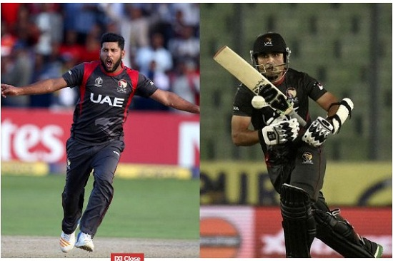 The International Cricket Council (ICC) has banned two UAE players