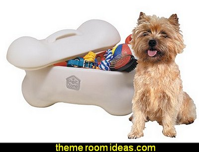 Big Bone Pet Toy Storage Bin