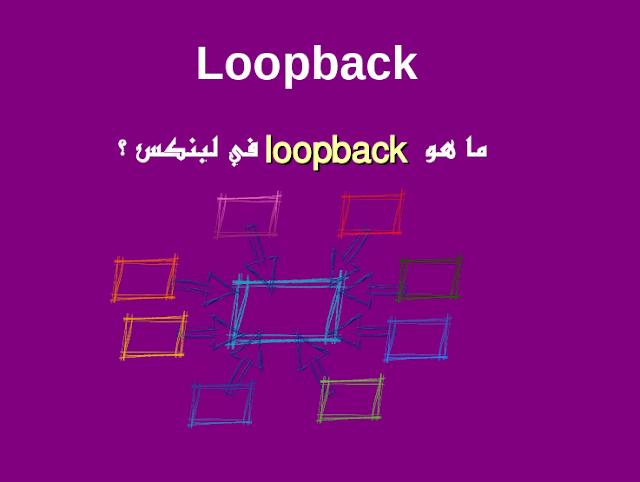 ما هو loopback device في لينكس ؟