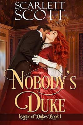 Nobody's Duke by Scarlett Scott book cover
