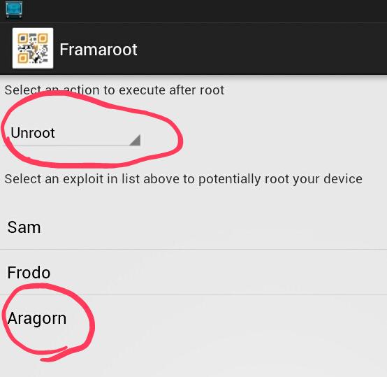 تحميل برنامج framaroot فراما روت 2016 لعمل روت للاندرويد