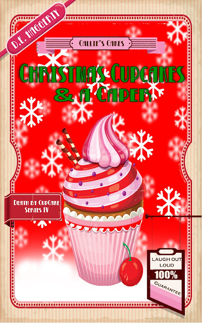 Christmas Cupcakes and a Caper (Death by Cupcake Book 4)  by D. E. Haggerty