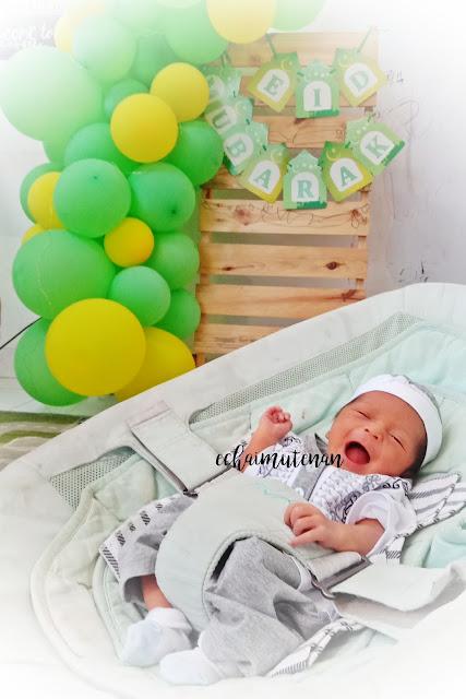baju muslim newborn bayi