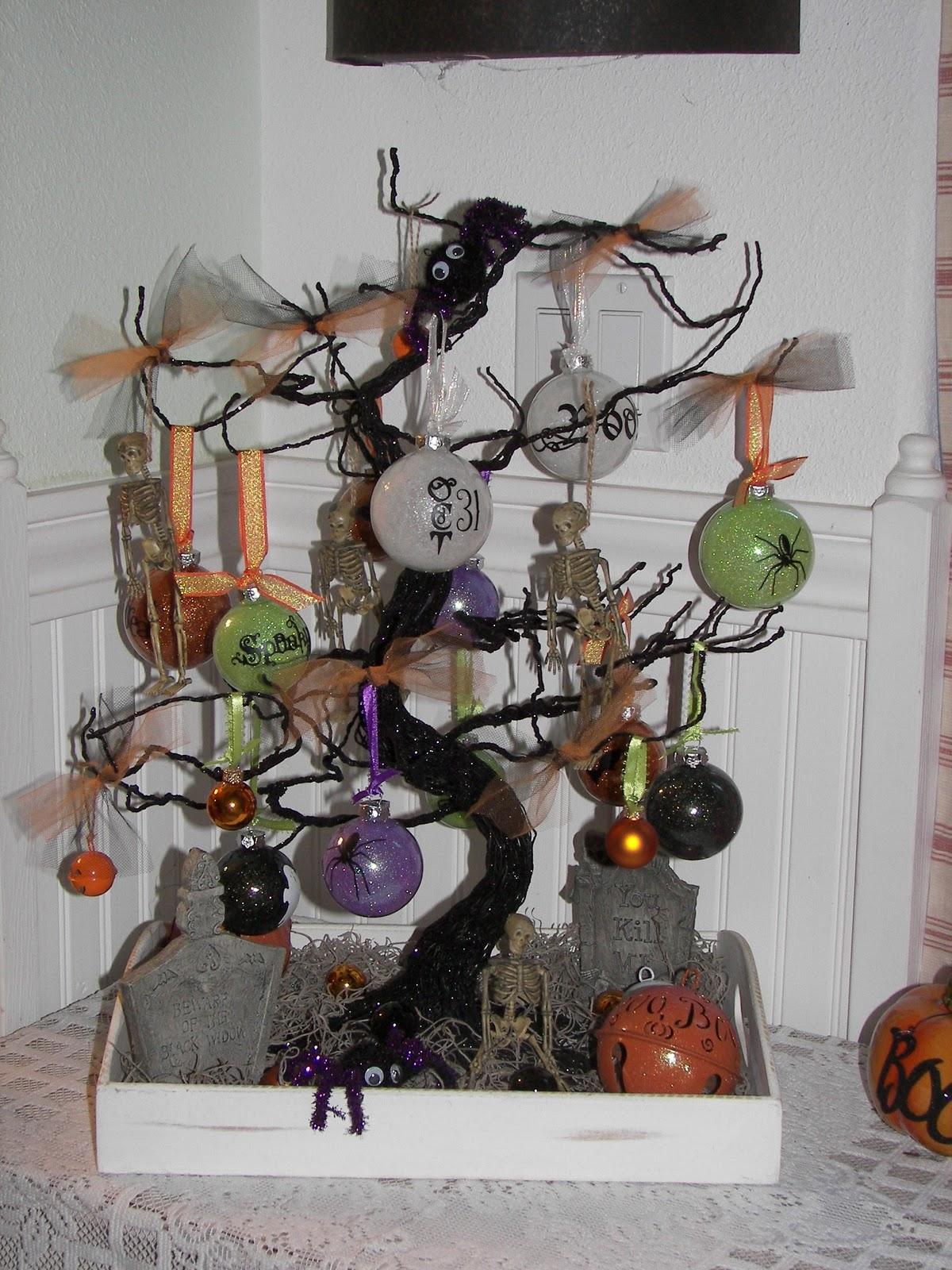 Kimber S Craft Day My Halloween Tree
