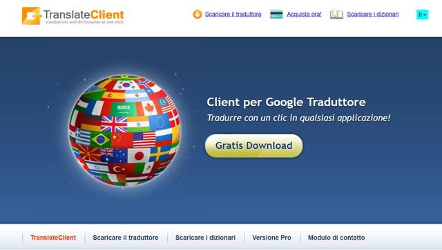 client-per-traduttore-google