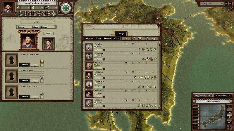 "Shogun-ki: The Paradox/Samurai Archives ""Sengoku"" Onin War Trivia"