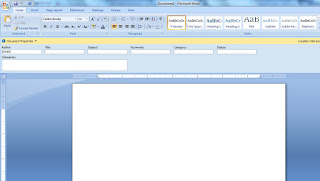 Propetis  view and edit document properties , such  as title , Autor, and Keywords