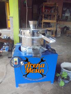 Mesin Pengayak Tepung - Harga Ayakan Tepung Sagu