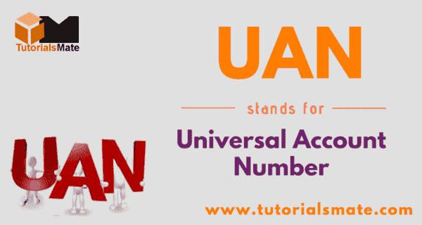UAN Full Form