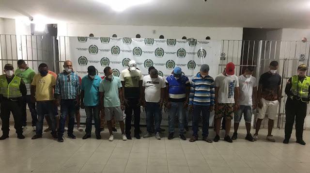 34 personas en Valledupar estaban bebiendo en 'El Salivón