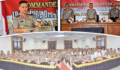 Ini 9 Commander Wish Kapolda Jambi, Untuk Seluruh Personel Polda Jambi Dan Seluruh Jajaran