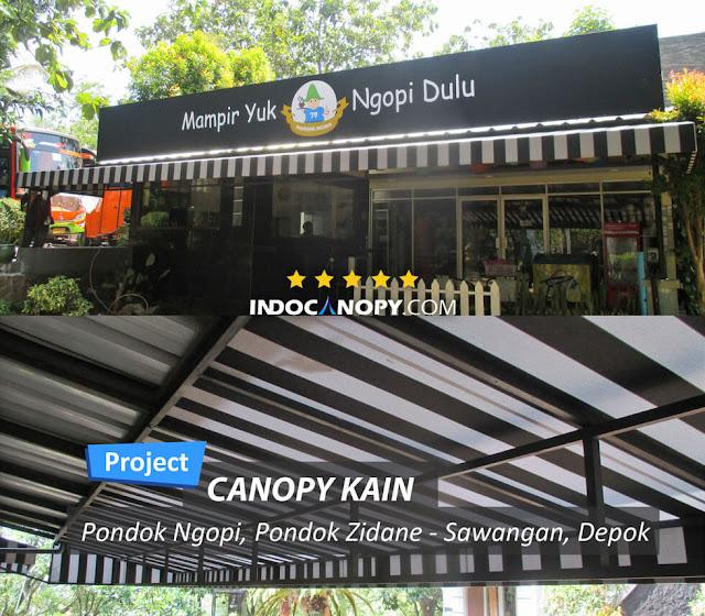 canopy awning cafe
