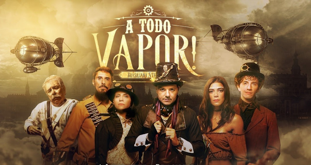 A Todo Vapor, primeira série steampunk brasileira, está disponível no Prime Video