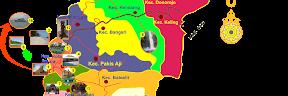 Peta Tempat Wisata Kabupaten Jepara Jawa Tengah