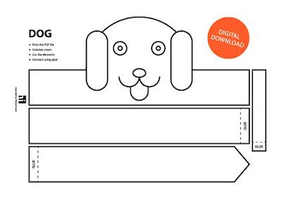 descarga corona máscara de perro