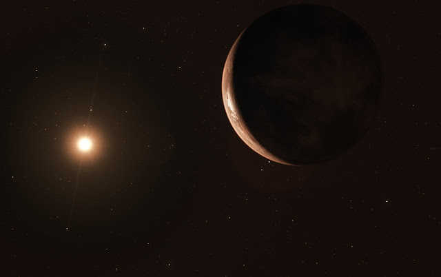 Super-Earth discovered around the second nearest stellar system