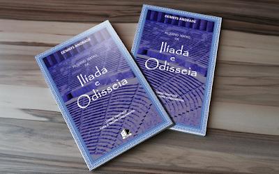 Livro Pequeno Teatro da Ilíada e Odisseia - Teatro Completo para o Ensino Fundamental - Dennys Andrade - BKCC Livros -