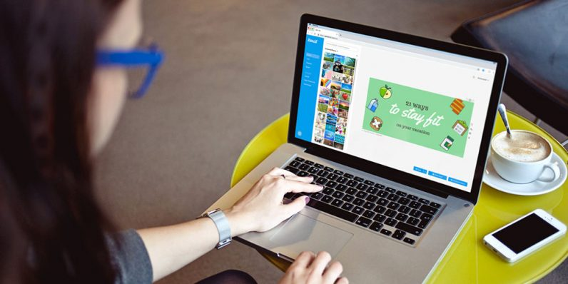 Stencil manages your graphic work on social networks without learning, and it's almost $100 off