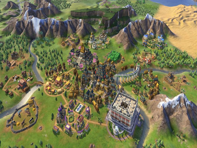 Download Sid Meier's Civilization VI Rise and Fall Free Full Game For PC