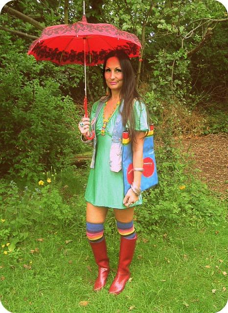 Vintage Vixen: Vix's Guide To Wet Weather Wear