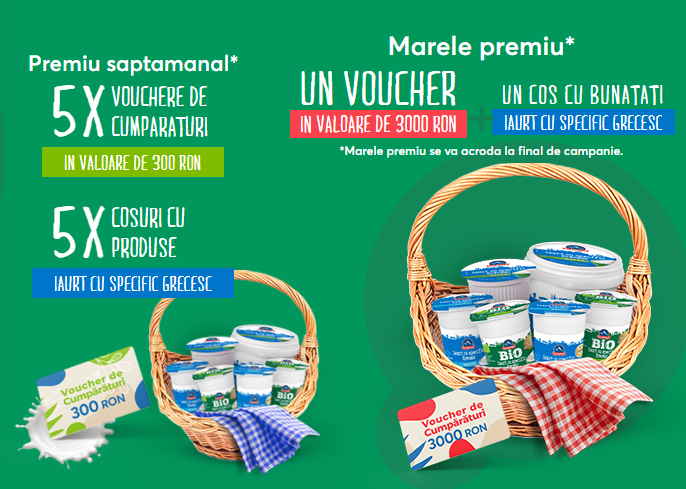 Concurs - Castiga premii pe care sa le imparti cu numarul 1 din viata ta - olympus - iaurt - grecesc - concursuri - online