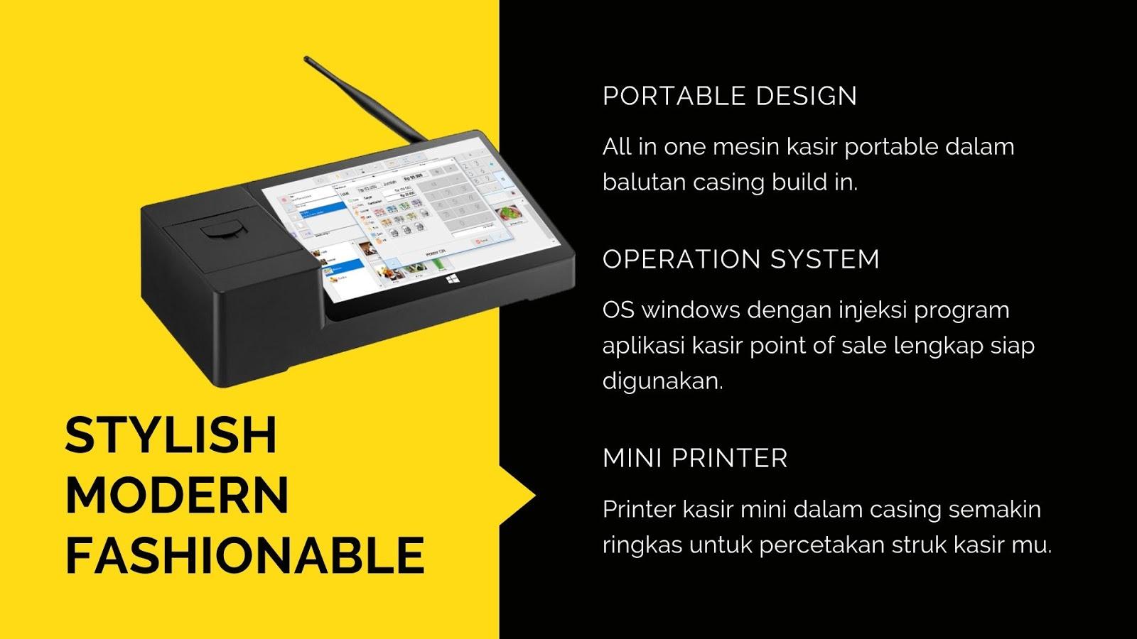 mesin kasir portable murah