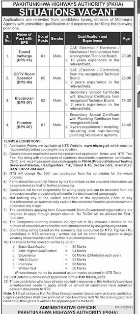 pakhtunkhwa highways authority jobs