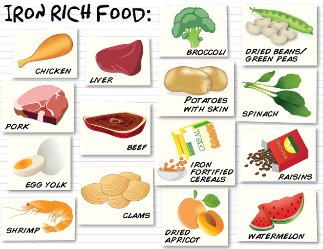iron food sources   ch...