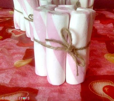 tutorial como hacer paquetes de chuches con cuerda