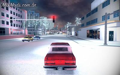 gta vc vice city neve snow winter mod inverno natal christmas